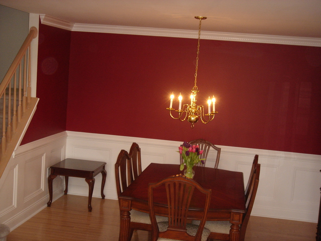Paint ideas for rooms with chair rails - Dining Room Paint Ideas With Chair Rail